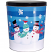 Snowmen 3 Gallon Tin