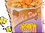 Chicago Style Popcorn cheddar and caramel mix 'Ducks Duo'