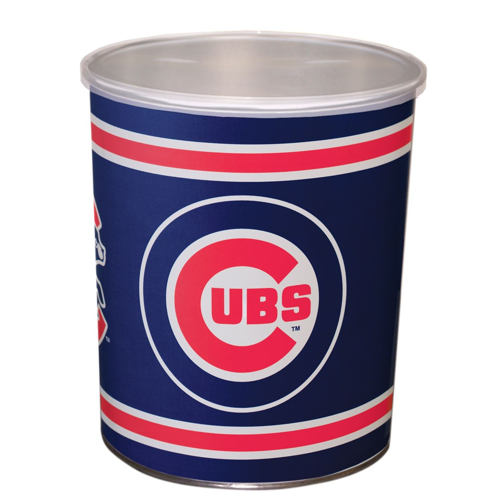 Chicago Cubs 1 Gallon Tin