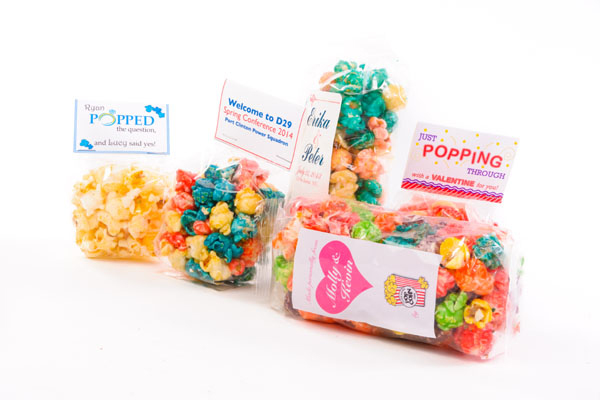 Large Party Popcorn Favors