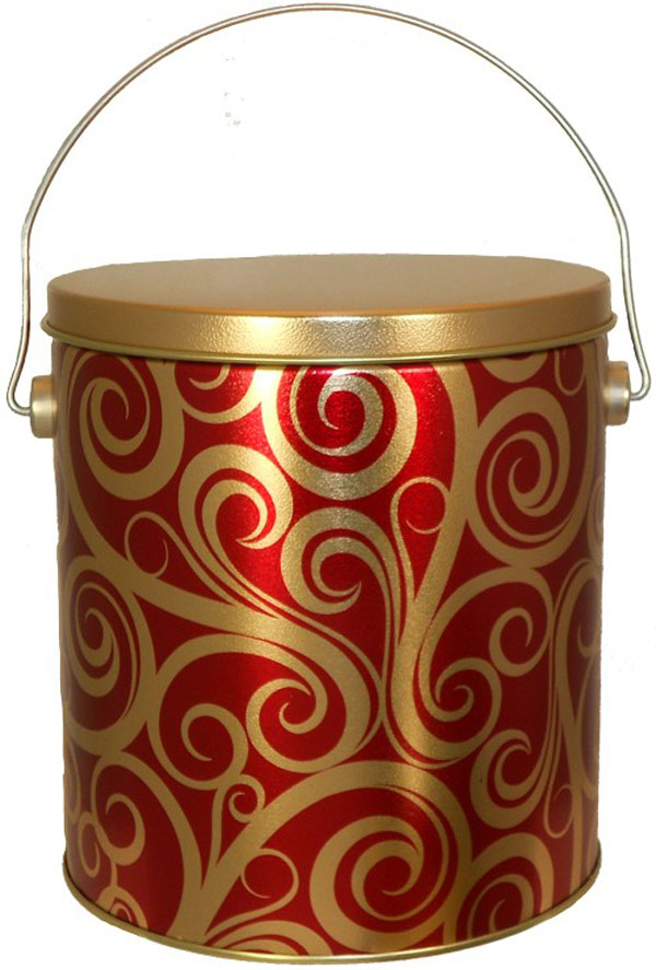1 Gallon Swirls Tin
