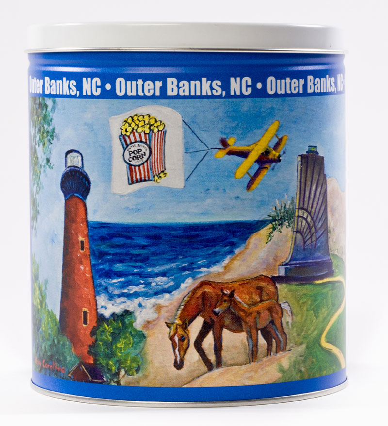 2 Gallon Outer Banks Tin