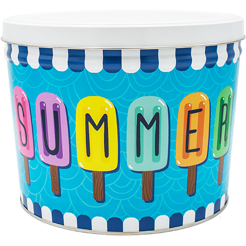 2 Gallon Summer Tin