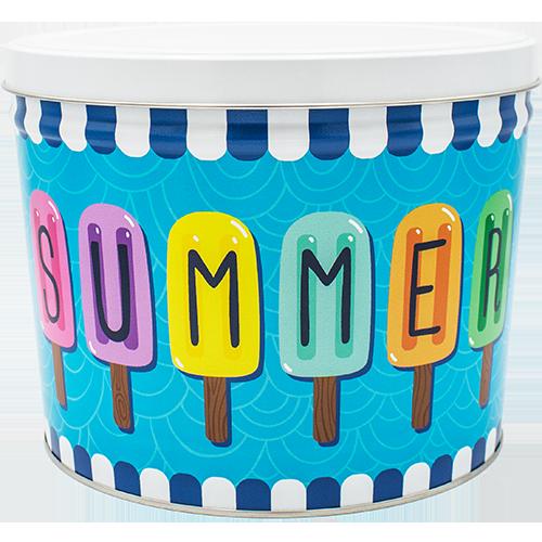 2 Gallon Summer Tin
