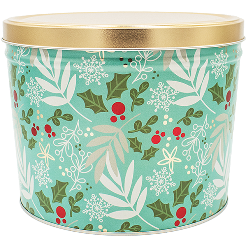 2 Gallon Winter Charm Tin