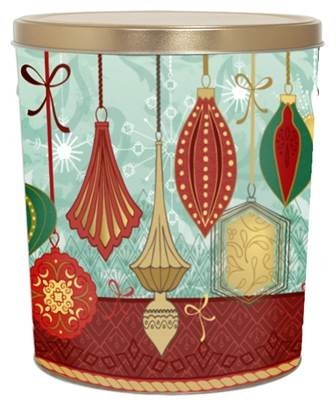 3 Gallon Ornaments Tin