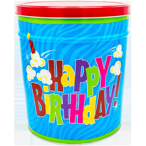 3 Gallon Birthday Tin