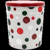 3 Gallon Jolly Dots Tin