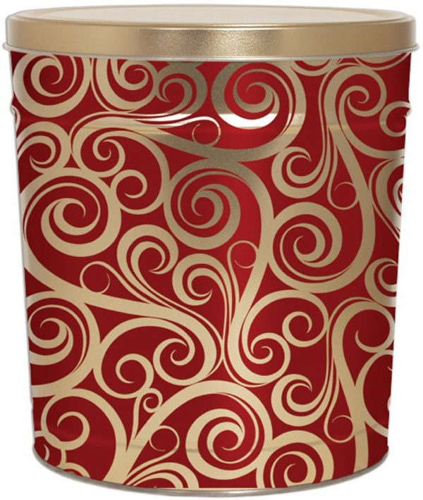 3 Gallon Swirls Tin