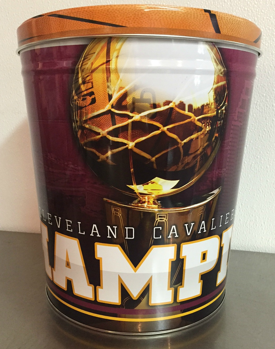 3 Gallon CAVS CHAMPIONSHIP TIN - LIMITED WHILE TINS LAST!