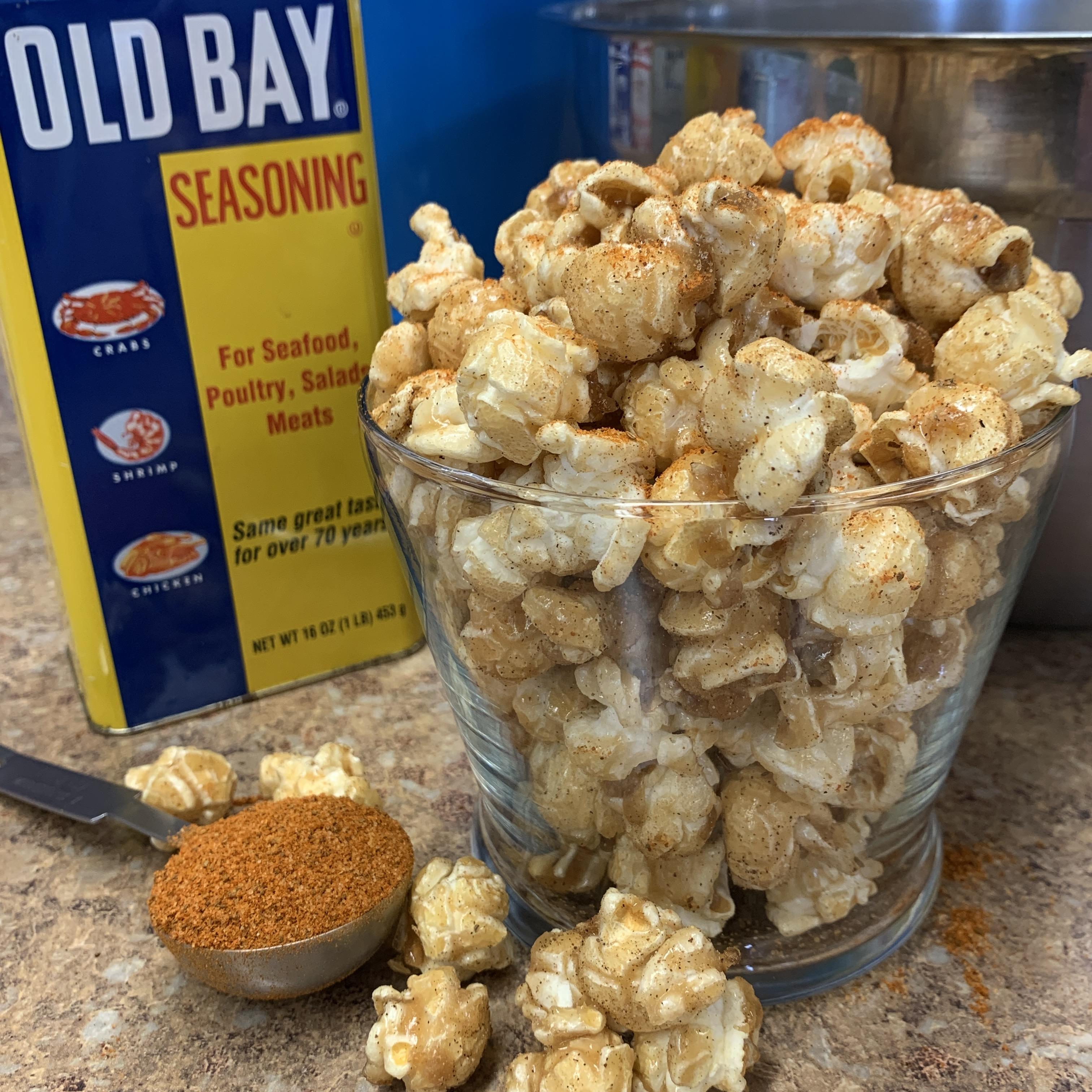 Currituck Crab Caramel Popcorn