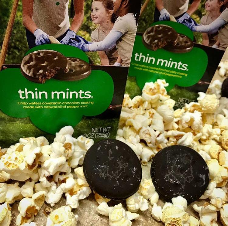 Thin Mint Popcorn