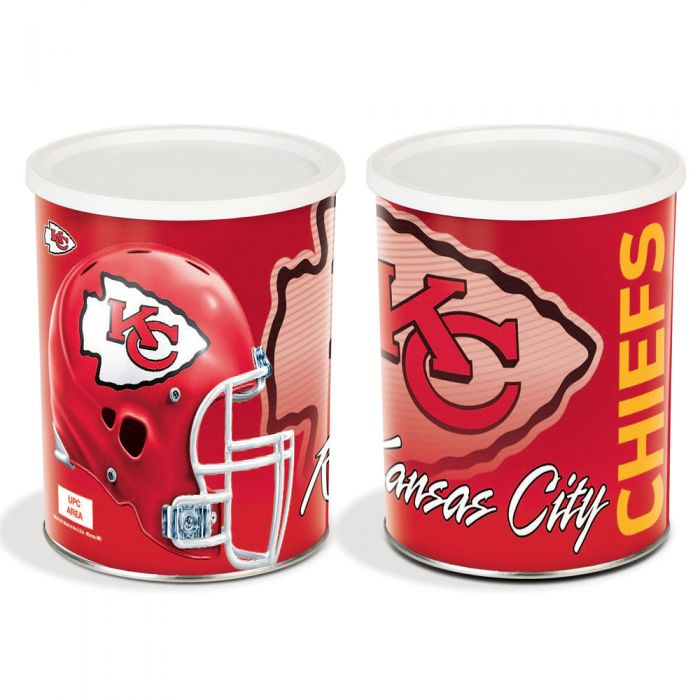 1 Gallon Kansas City Chiefs Tin