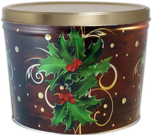 2 Gallon Holly Tin