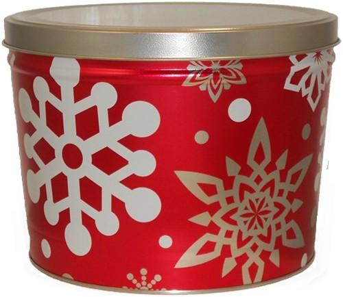 2 Gallon Let it Snow Tin