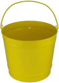 2 Gallon Yellow Bucket