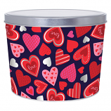 2 Gallon Happy Hearts Tin