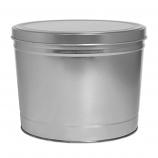 2 Gallon Silver Tin