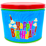 2 Gallon Birthday Tin