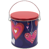 1 Gallon Valentine Tin