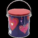 1 Gallon Valentine Tin