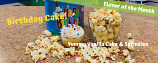 Birthday Cake Flavored Popcorn