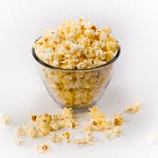 Parmesan Garlic Flavored Popcorn