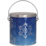 1 Gallon Snowflake Tin