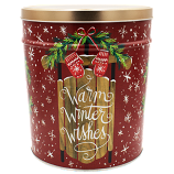 3 Gallon Warm Winter Wishes Tin