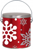 1 Gallon Let it Snow Tin