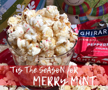 Merry Mint Flavored Popcorn