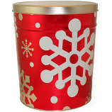 3 Gallon Let it Snow Tin