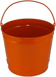 2 Gallon Orange Bucket