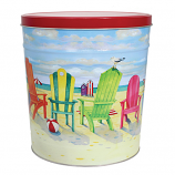3 Gallon Beach Chair Tin