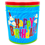 3 Gallon Birthday Tin