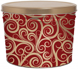 2 Gallon Swirls Tin