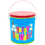 1 Gallon Birthday Tin
